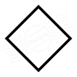 Rhomb clipart square shape