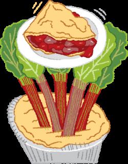 Rhubarb clipart Rhubarb Pie Clipart