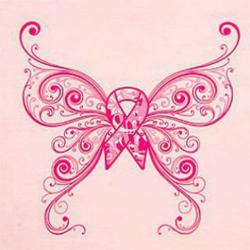 Butterfly clipart cancer