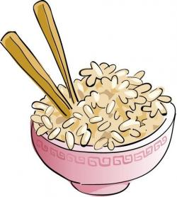 Cereal clipart brown rice
