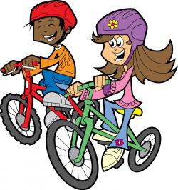 Tricycle clipart for kid