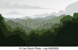 Mountain Ridge clipart blueridge