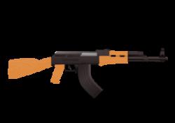 Assault Rifle clipart famous