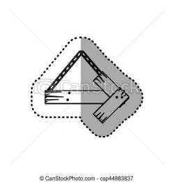 Right clipart signboard