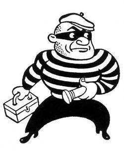 Swag clipart burglar