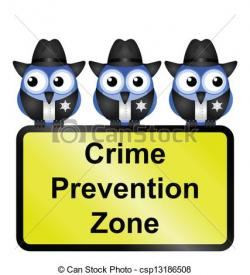 Rime clipart crime prevention