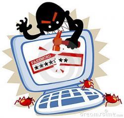 Hacker clipart creepy