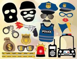 Rime clipart police chase