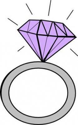 Veil clipart engagement ring