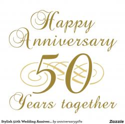 Romance clipart 50th wedding anniversary