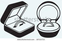 Ring clipart ring box
