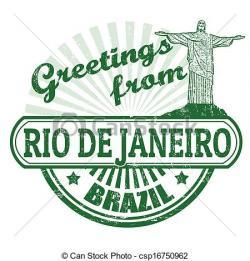 Brazil clipart rio de janeiro