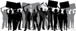 Riot clipart cartoon