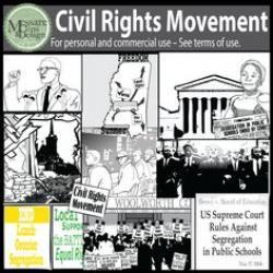 Riot clipart civil right