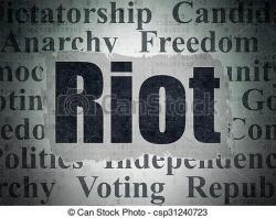 Riot clipart freedom