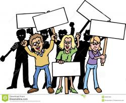 Revolution clipart protest