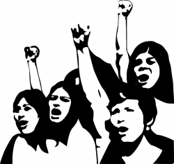 Revolution clipart peaceful protest