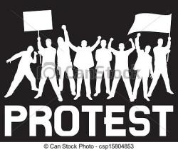 Riot clipart protest