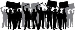 Riot clipart strike