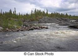 River clipart arctic tundra