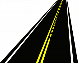 Drawn roadway high resolution