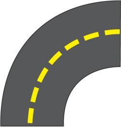 Highway clipart roadway