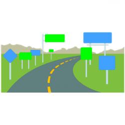 Way clipart roadway