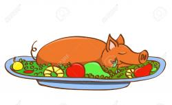 Pork clipart roast pork