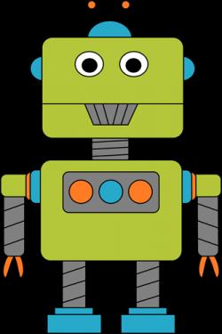 Homework clipart robot