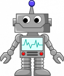 Robot clipart animated