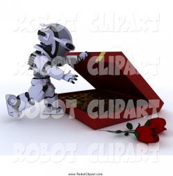 Robot clipart candy