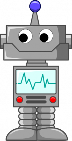 Robot clipart cartoon