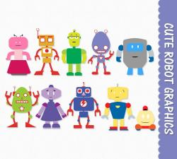 Robot clipart children's
