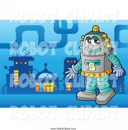 Robot clipart city