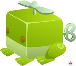 Robot clipart frog