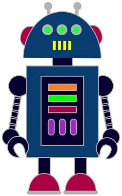 Robot clipart graphic