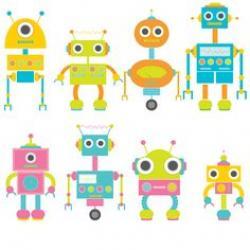 Robot clipart lovely
