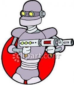 Robot clipart pants