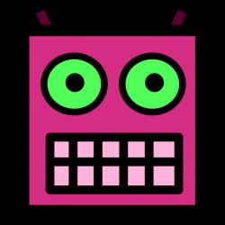 Robot clipart robot face