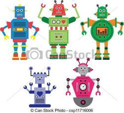 Robot clipart robotic