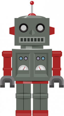 Robot clipart toy