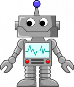 Robot clipart transparent background
