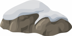 Boulder clipart sea rock
