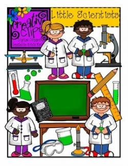 Glance clipart little scientist