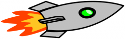 Rocket clipart horizontal