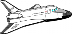 Rocket clipart space shuttle