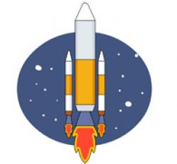 Comet clipart space travel