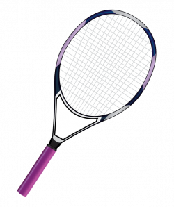Pink clipart tennis racket