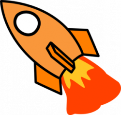 Rocket clipart transparent background