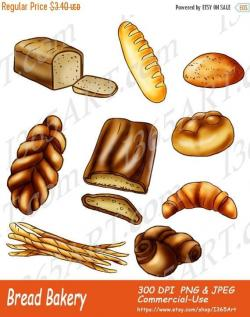 Bread clipart bakery item